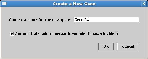 Draw New Gene into Existing Module
