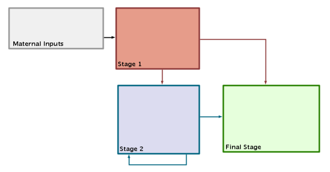 Before Overlay Driven Layout: Process Diagram