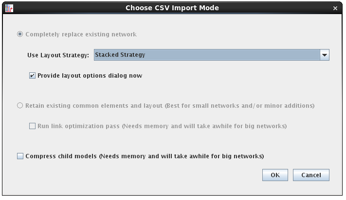 Better CSV Import Layout Options